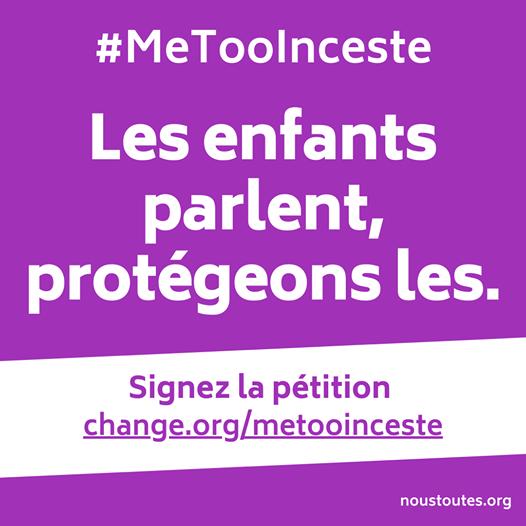 Signez la pétition Metooinceste